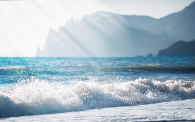 Bellissimo paesaggio marino Foto Premium