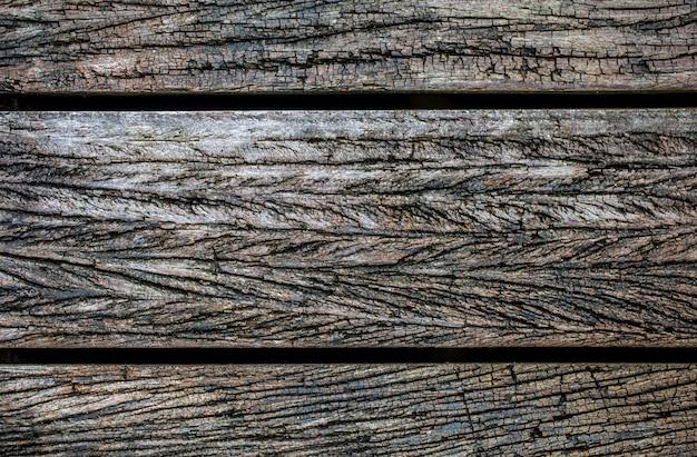 Bellissimo sfondo di legno vecchio Foto Premium
