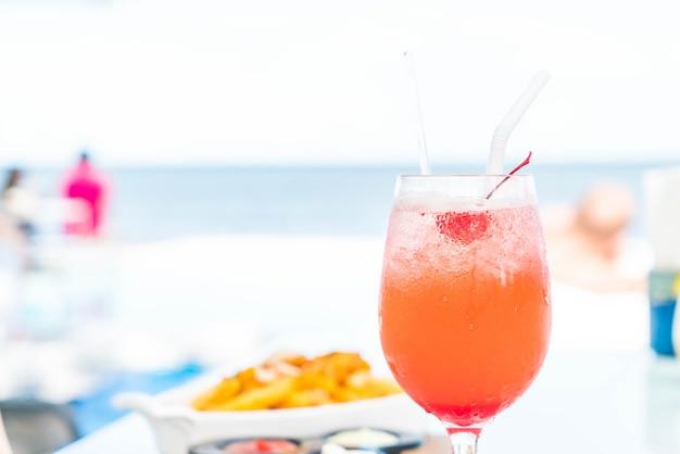 Bevanda cocktail colorato Foto Premium