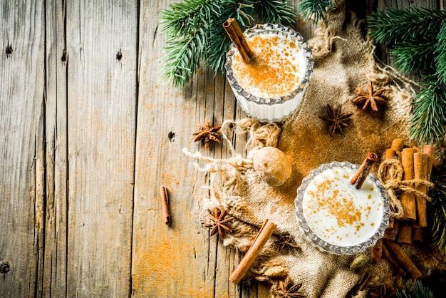 Bevanda natalizia classica zabaione Foto Premium