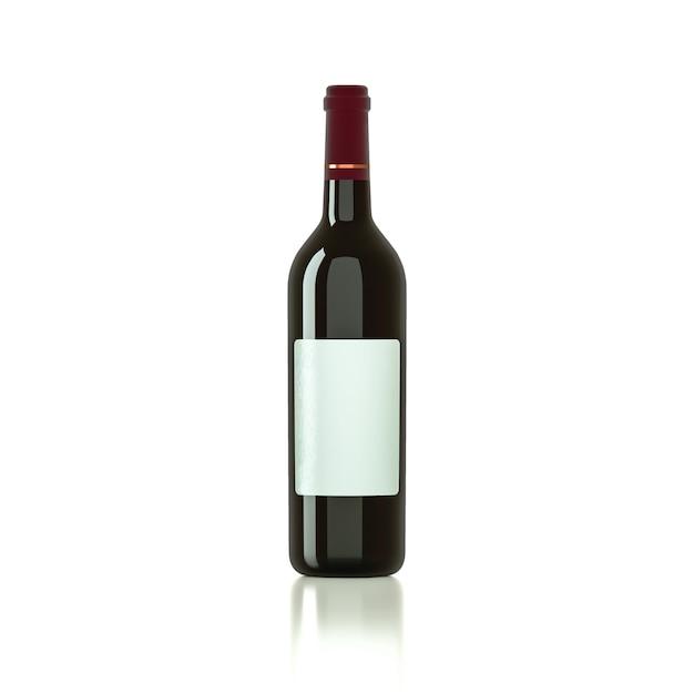 Bicchiere da vino per mockup Foto Premium