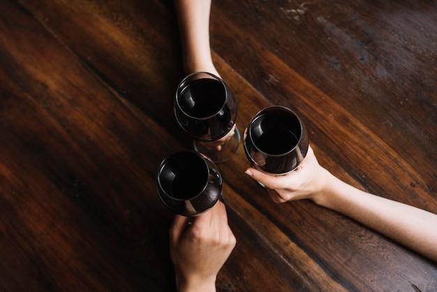 Bicchieri di vino Foto Gratuite