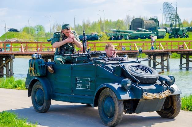 Bielorussia, minsk. nel centro storico e culturale Foto Premium
