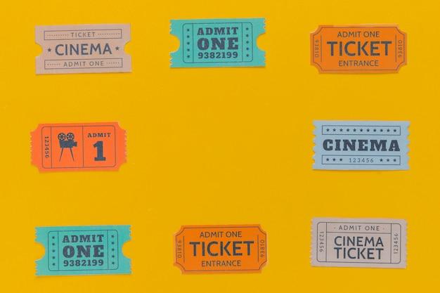 Biglietti del cinema d'epoca Foto Gratuite