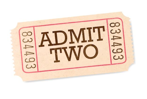Biglietto del cinema Foto Gratuite