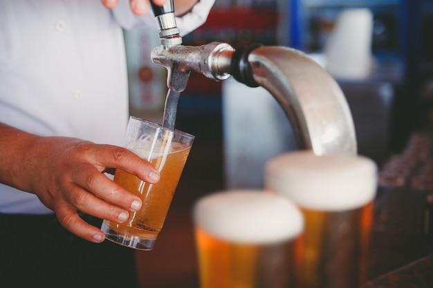 Birra alla spina Foto Premium