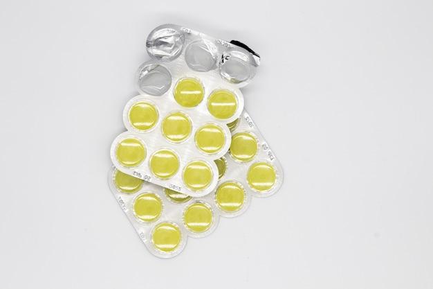 Blister di compresse / pillole. farmaci da prescrizione in blister Foto Gratuite