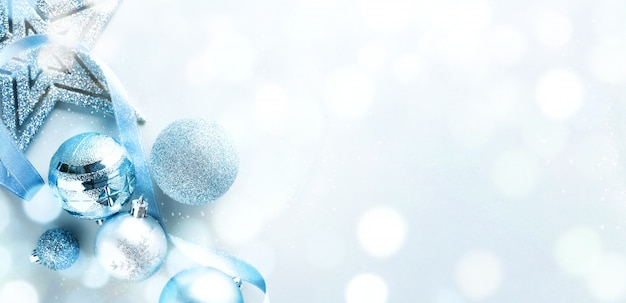 Blue christmas lay lay Foto Gratuite