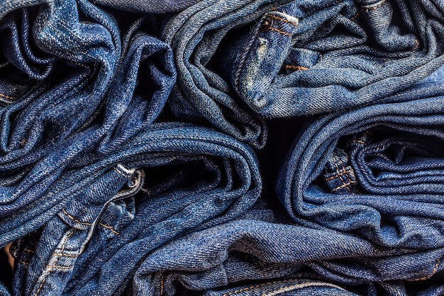 Blue jeans texture per qualsiasi sfondo Foto Gratuite