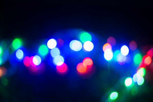 Bokeh - astratto sfondo sfocato - perdite di luce Foto Premium