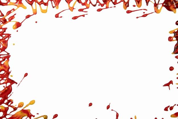 Bordo da fuoriuscite di vernice rossa Foto Gratuite
