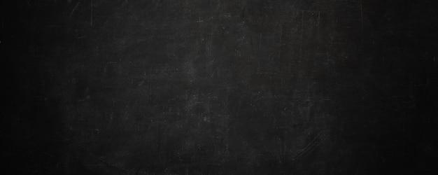 Bordo di gesso scuro di struttura e parete dell'insegna del bordo nero di lerciume Foto Premium