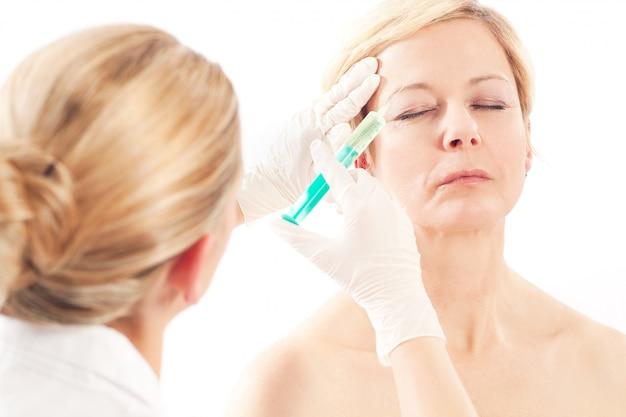 Botox - età e bellezza Foto Premium