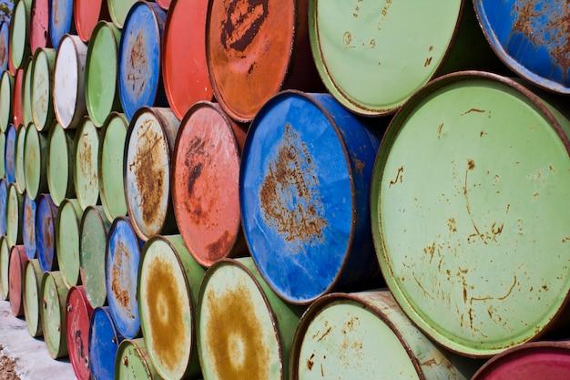 Botti per la conservazione dell'olio Foto Gratuite