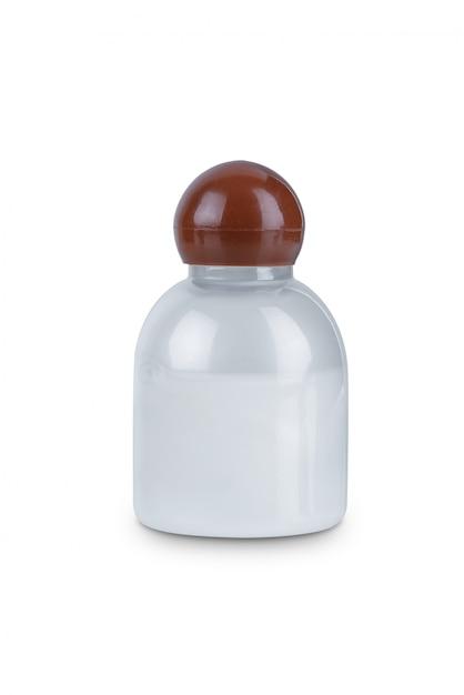Bottiglia di plastica trasparente Foto Premium