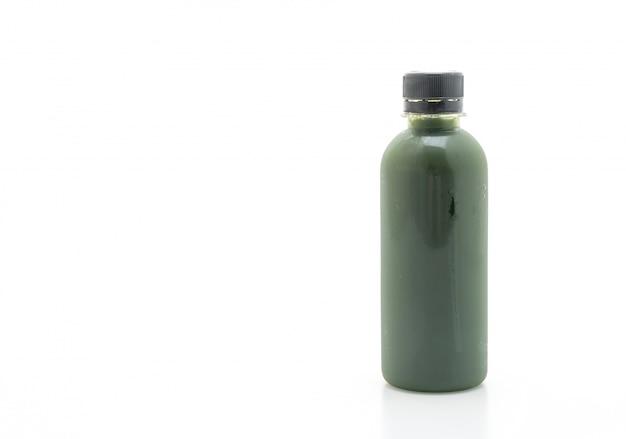 Bottiglia di succo di frutta e verdura (bevanda salutare) Foto Premium