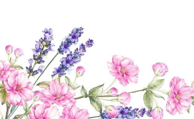 Bouquet di fiori in fiore. Foto Premium