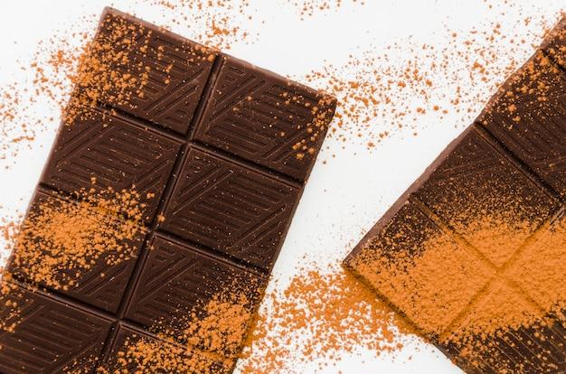 Briciole di cacao al cioccolato Foto Gratuite
