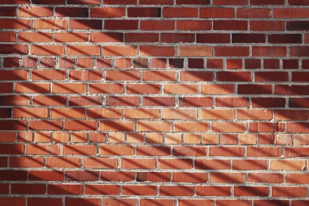 Brickwall con linee d'ombra Foto Gratuite