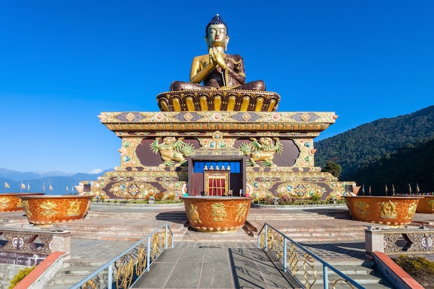 Buddha park, ravangla Foto Premium