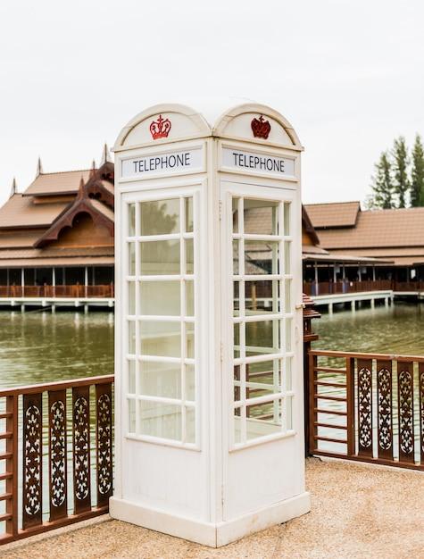 Cabina telefonica Foto Premium