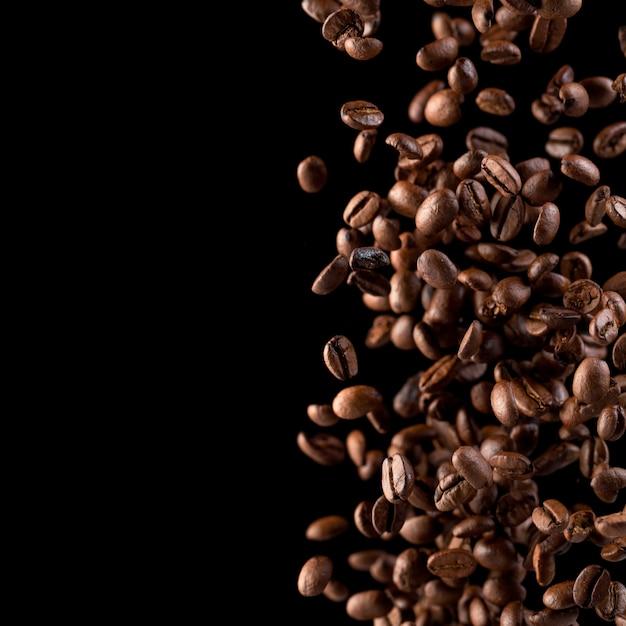 Caffè volante Foto Premium