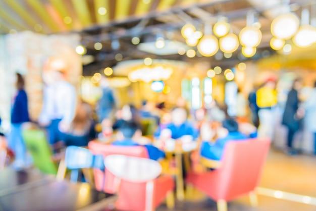 Caffetteria sfocatura astratta Foto Gratuite