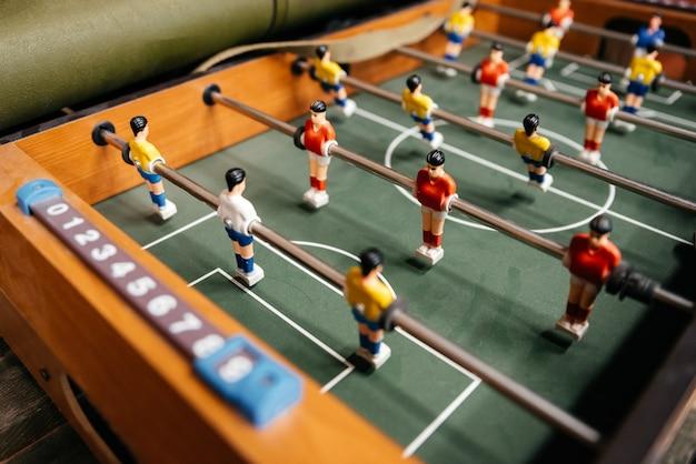 Calcio balilla calcio da tavolo Foto Premium