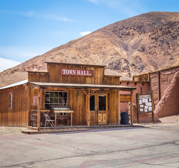 Calico è una città fantasma nella contea di san bernardino, in california Foto Premium