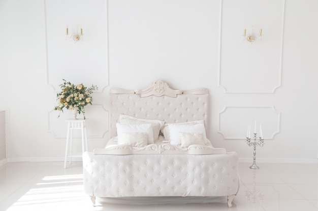 Camera da letto di lusso Foto Premium