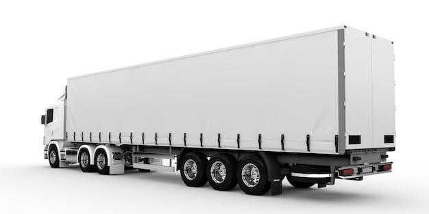 Camion bianco Foto Premium