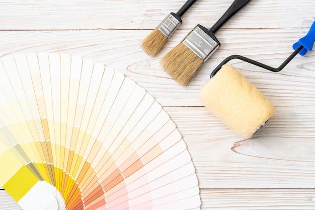 Campionario colori catalogo pantone o colore campionario Foto Premium