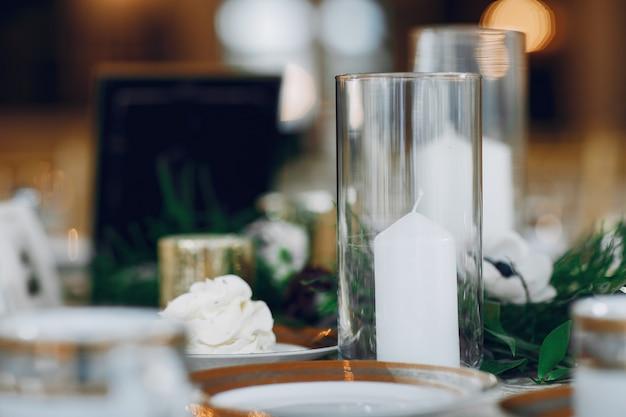Candele da sposa eleganti Foto Gratuite