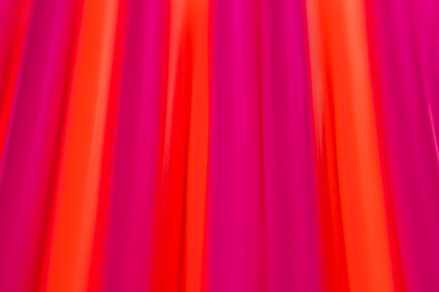 Cannucce di plastica di colore misto vista dall'alto Foto Gratuite
