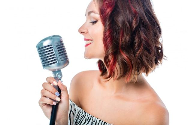 Cantante Foto Premium