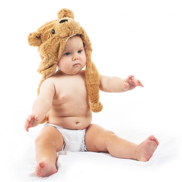 Cappellino per bebè Foto Premium