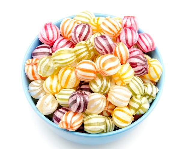 Caramelle assortite di frutta Foto Premium