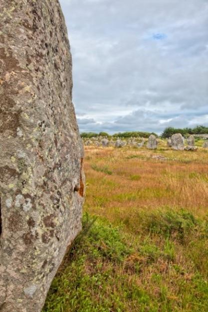 Carnac pietre hdr Foto Gratuite