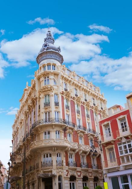 Cartagena gran hotel art noveau a murcia in spagna Foto Premium