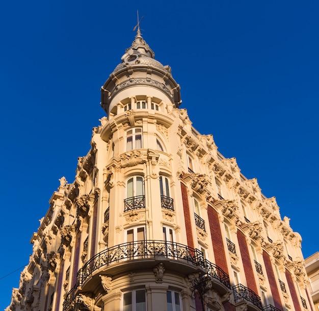 Cartagena gran hotel art noveau murcia in spagna Foto Premium
