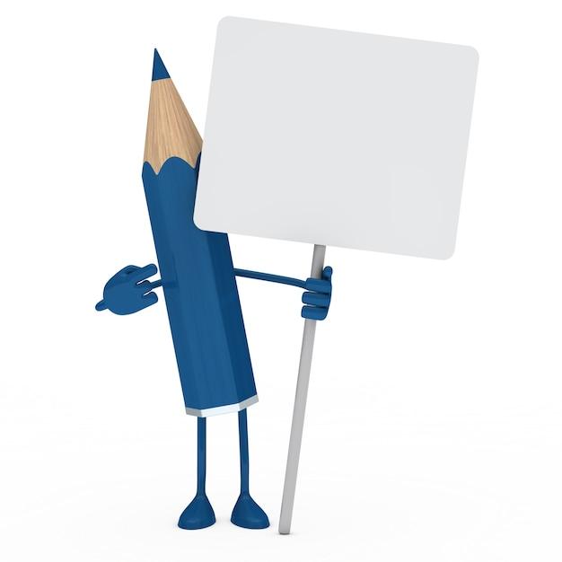 Cartone animato che mostra un segno vuoto scaricare foto