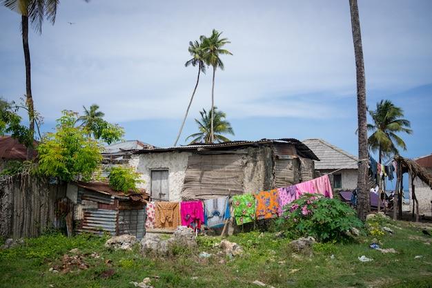 Casa di campagna africana Foto Premium