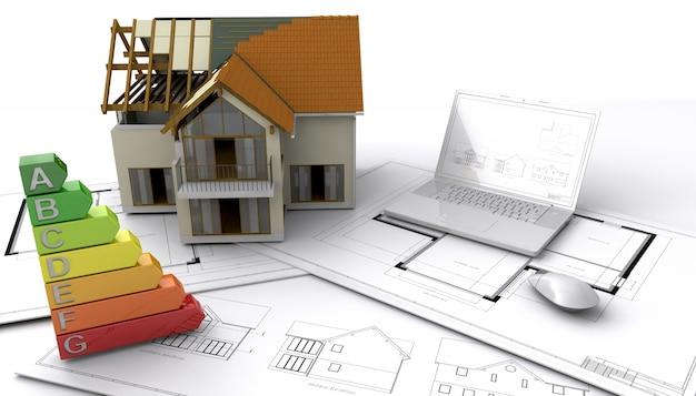 Casa in stile contemporaneo in costruzione scaricare foto gratis - Tempi costruzione casa ...