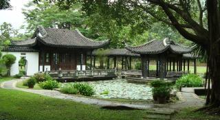 Case in stile cinese in bangkok scaricare foto gratis for Casa in stile orientale