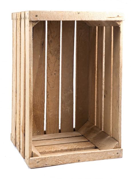 Cassa di legno Foto Premium