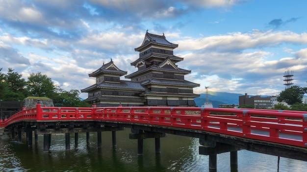 Castello di matsumoto in giappone Foto Premium