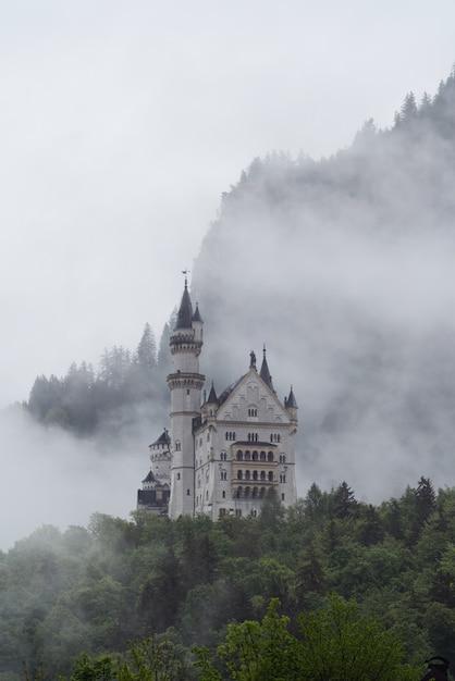Castello di neuschwanstein in germania Foto Premium