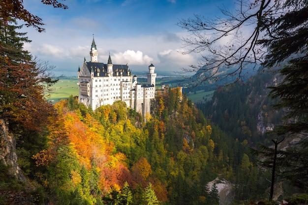 Castello di neuschwanstein Foto Premium