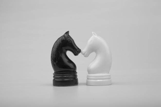 Cavallo di scacchi Foto Premium