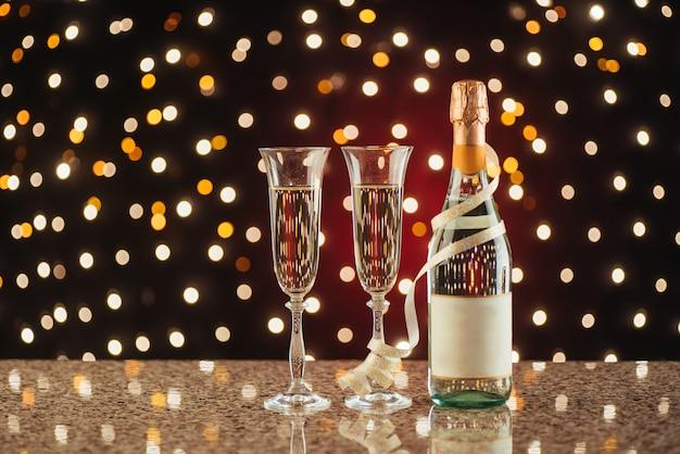 Celebrazione di nuovo anno Foto Premium